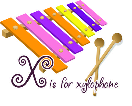 Make some happy sounds with this colorful xylophone.  Music can go anywhere with this cute graphic to dress up your apparel projects. Çizim