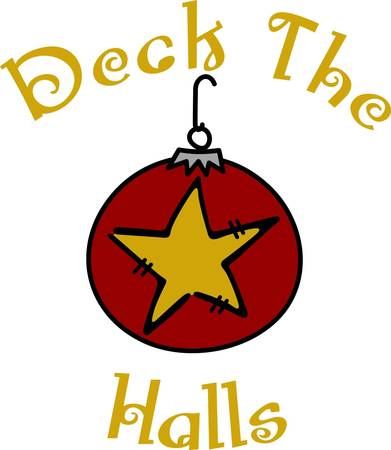 trimmings: Festive holiday trimmings brighten any Christmas project.  This whimsical ornament is a delightful embellishment for your holiday linens.
