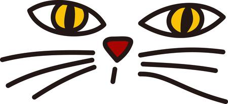 wiskers: Kitty cats and Halloween go together and we have a special kitty for you  These pretty eyes and long wiskers turn your Halloween creations into treasures.