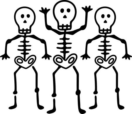 This trio of terror makes a fun embellishment for your spooky creations for the season.   Perfect for party favors and invitations to your spookfest