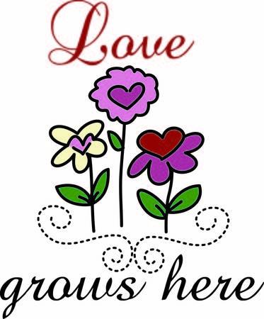 hacer el amor: Un jard�n de corazones hacer el amor crece dondequiera que usted elija para mostrarlos. Esto es a la vez un gran dise�o de la primavera y la decoraci�n de San Valent�n