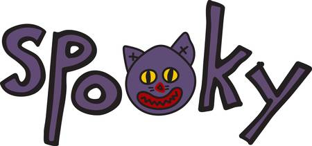 goblins: Having a Halloween party for the little goblins  Here is a perfect graphic to add to your party dcor Illustration