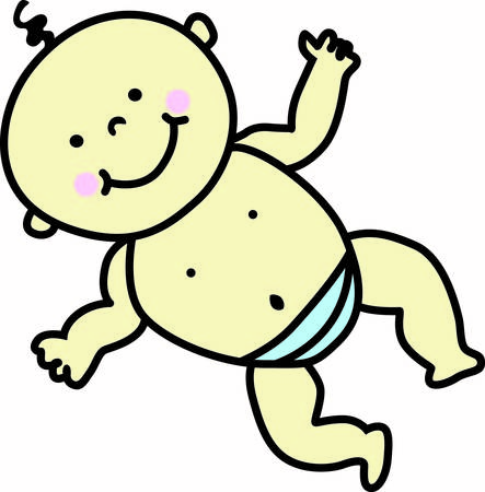 clone: What a cute and happy baby  He is the perfect decoration for all your baby projects.