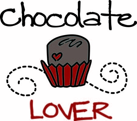 dcor: Every loves chocolate  Add this sweet chocolate with the swirly dcor to give your project a yummy appeal.