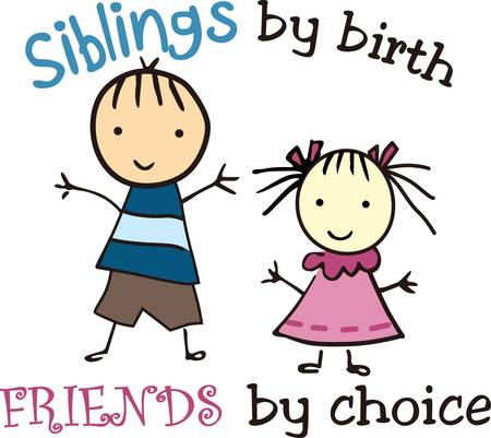sibling: Brothers and sisters are as close as hands and feet collect their pictures form concord designs