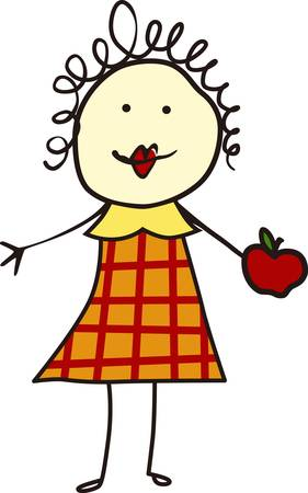 concord: Theappleis a symbol forteachersandteachingcollect those pictures form concord designs   Illustration