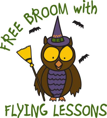 flying hat: Halloween is such fun even our little owl is getting into the dress up act  This fun little owl is an amazing decoration for trick or treat apparel.