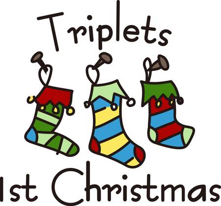 Get this exclusive stockings design to add to your Christmas festivity. Santa might stop by