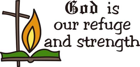 refuge: God is our refuge and strength a very present help in trouble collect those designs by concord