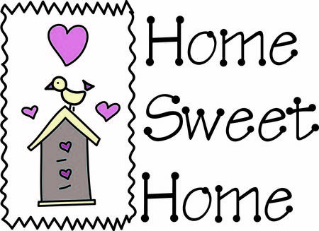 sweetest: This bird has the sweetest house.  Love is in the air with hearts in abundance.  Lovely decoration for so many special events like a housewarming
