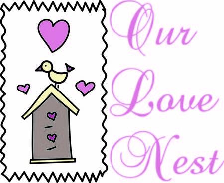 eventos especiales: Esta ave tiene la casa m�s dulce. El amor est� en el aire con los corazones en abundancia. Preciosa decoraci�n para tantos eventos especiales como un estreno de una casa Vectores