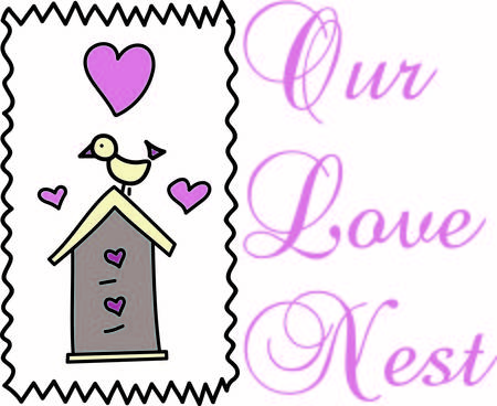 special events: This bird has the sweetest house.  Love is in the air with hearts in abundance.  Lovely decoration for so many special events like a housewarming