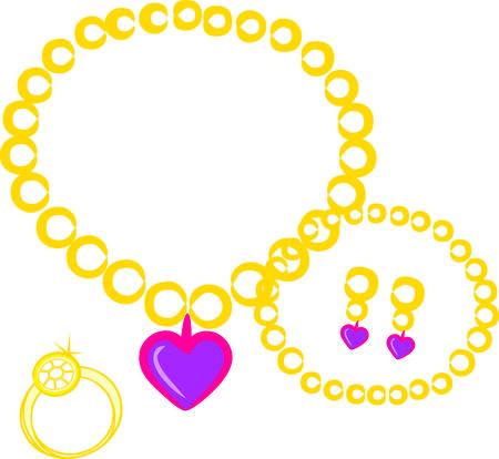 adorn: Hermosas joyas adaptarse para una princesa son la manera perfecta para adornar sus proyectos reales Nos encanta este gr�fico en camisetas y bolsos o incluso un cuadrado del edred�n
