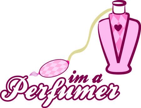 진정한 공주 만이 사랑스러운 향수 분무기를 가질 수있었습니다. 우리는 병을 다른 어떤 것과도 차별화하는듯한 작은 핑크색 심장을 좋아합니다. 화장
