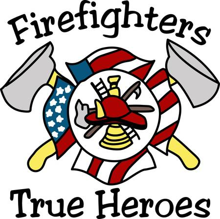Make a bold statement by displaying your pride in being a firefighter.  Perfect way to remind what it takes to be a firefighter: valor dedication service honor and courage.