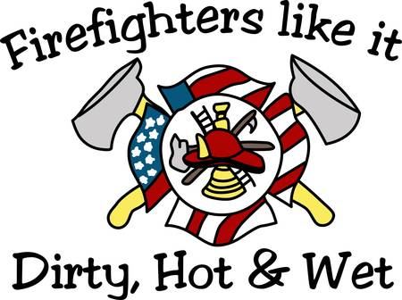 dedication: Make a bold statement by displaying your pride in being a firefighter.  Perfect way to remind what it takes to be a firefighter: valor dedication service honor and courage.