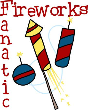 Celebrate our freedom on July 4th with these fireworks  Perfect on items for family and friends to celebrate this day.  They will love it