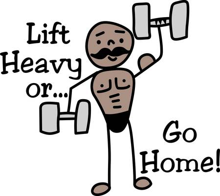 stronger: Those who lifts barbells in competition or as an exercise to build their muscles stronger.