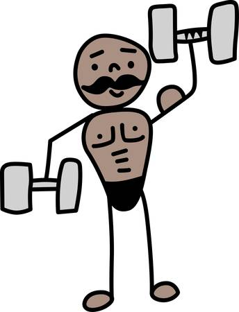 Those who lifts barbells in competition or as an exercise to build their muscles stronger.