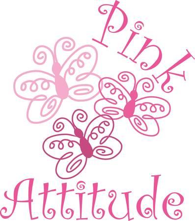Een warme en uitnodigende de prachtige natuur met roze vlinder halen die ontwerpen van Concord