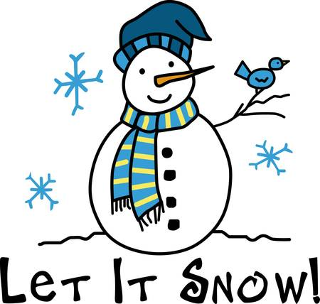 let it snow: A figure of a person made from packed snow usually formed by piling large snowballs on top of each other pick those designs by concord