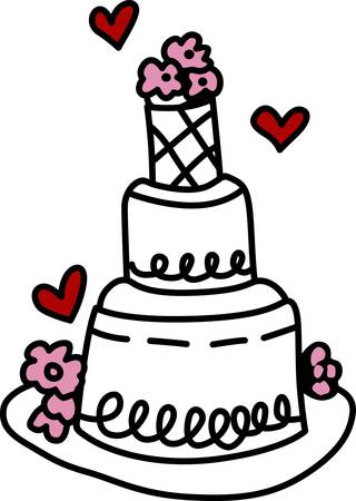 cake pick: The perfect wedding cake is a rich iced cake typically in two or more tiers served at a wedding reception pick those designs by concord