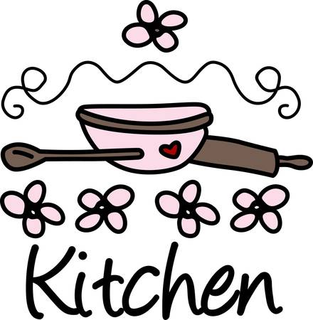 Grab your ingredients and get to baking Get ready to enjoy some cookies with this design by Concord Collections