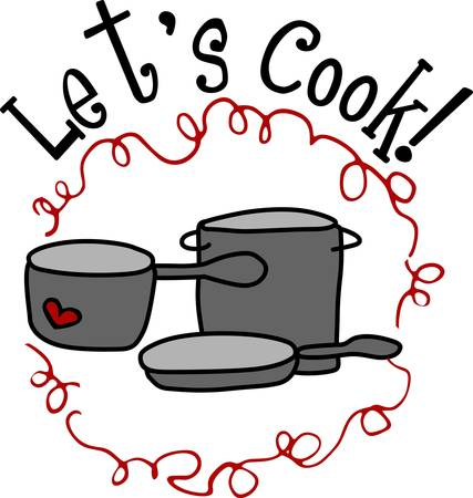 preparing food: Cookery is the art of preparing food for consumption with the use of heat. Pick those designs by Concord Illustration