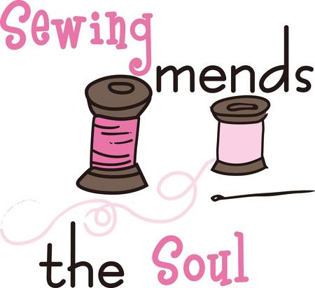 Stitch your designer cloths using sewing spools by concord designs