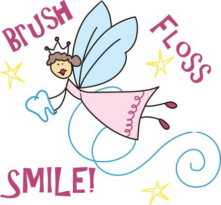 early childhood: The tooth fairy is a fantasy figure of early childhood pick those designs by concord