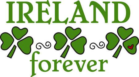 Goede tijden goede vrienden een goede gezondheid voor u en het geluk van de Ieren in alles wat je .May je zegeningen overtreffen de klavers die groeien.