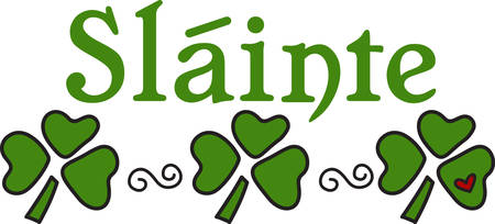 Good times good friends good health to you and the luck of the Irish in all that you do .May your blessings outnumber the shamrocks that grow.