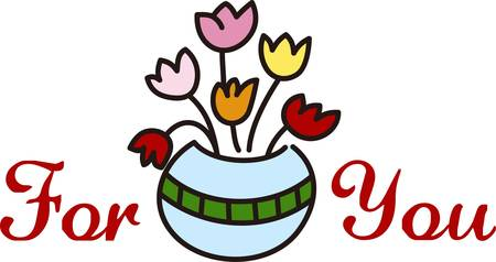 quite: Nothing welcomes spring quite like tulips.  These lovely flowers in a pot are a lovely way to honor mom.