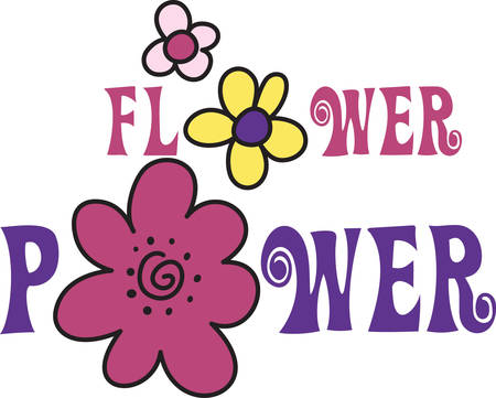 seem: These bright and colorful flowers seem to have a hand drawn appeal.  They simply have endless uses for crafters