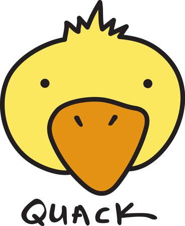 quack: Quack Quack Qwazy Qwackers A much loved classic Duck Head design for your projects.  Great for kids and bath