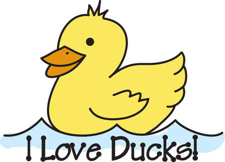 duckie: This design features a classic rubber duckie.  It is a fantastic way to create that baby heirloom design.