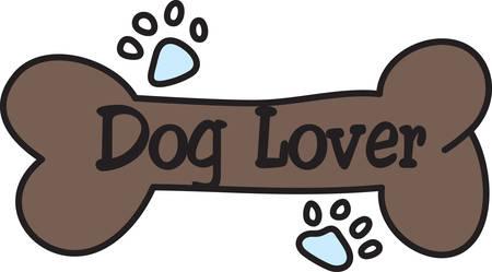 chew: Every good dog needs a bone for a reward.  Reward your four legged friend using this cute design to decorate a bandana or collar