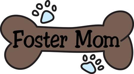 legged: Every good dog needs a bone for a reward.  Reward your four legged friend using this cute design to decorate a bandana or collar