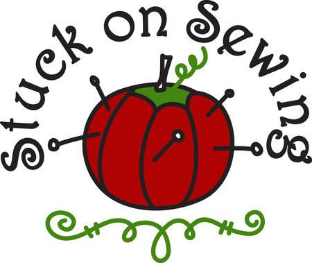 zeitlos: Eine h�bsche Tomatennadelkissen ist nicht nur eine Notwendigkeit f�r den N�herei ist ein zeitloser Klassiker. Was f�r ein sch�nes Design f�r das N�hatelier