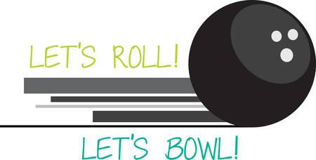 ボウリングのボールは、スポーツ用品スポーツのボーリングのボーリングのピンをヒットするために使用の作品です。