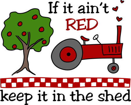 ocupation: Learn all you wanted to know aboutFarm Farming Fence Tree Country Tractor with pictures by concord Illustration