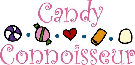 The sweetness of candies attract every one to enjoy it pick these designs from concord collections. Illustration