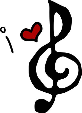 Nothing but treble for the music lover you know pick those designs by Concord