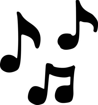何あなたが知っている音楽愛好家のためのノートもはコンコードでこれらのデザインを選ぶ  イラスト・ベクター素材