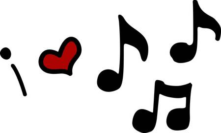 Nothing but notes for the music lover you know pick those designs by Concord