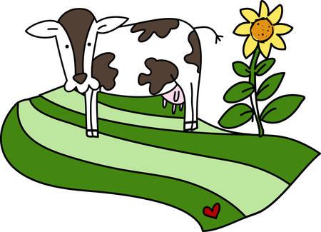 牛国デザイン コンコルド周辺ツアーします。  イラスト・ベクター素材
