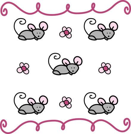 Swirly Muis Muizen Knaagdieren Animal wordt via een lab dier om elke disease.Pick bestuderen die ontwerp van Concord.