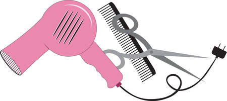 clippers comb: Be stylish to look beautiful.Pick those design by concord. Illustration