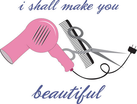hair clippers: Be stylish to look beautiful.Pick those design by concord. Illustration