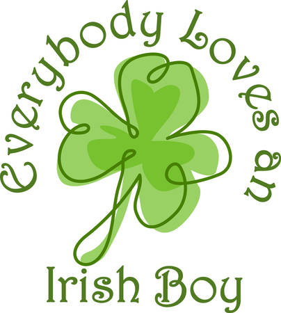 good friends: Good times good friends good health to youand the luck of the Irish in all that you do Illustration